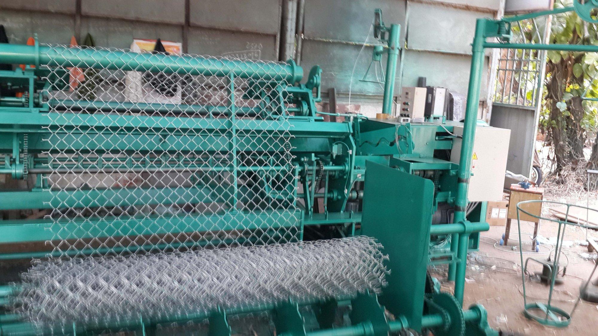 Máy đan lưới B40 của Lưới Thép Bình Minh