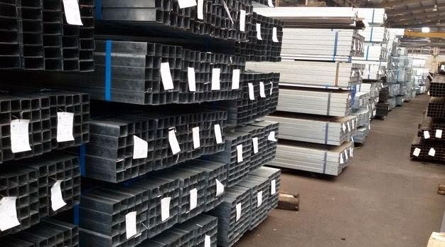 Kho sắt hộp công ty Bình Minh