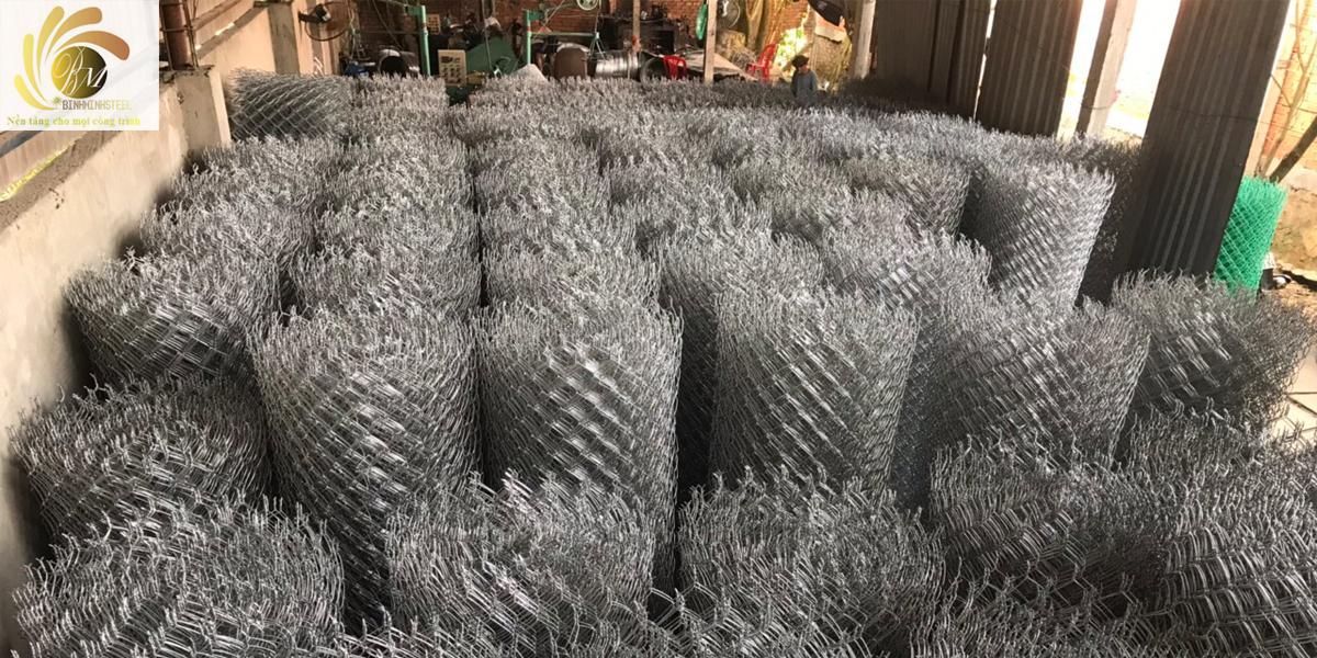 Kho lưới thép B40 của Lưới Thép Bình Minh
