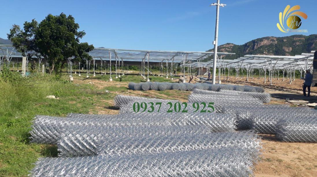 công trình sử dụng lưới b40 Bình Minh