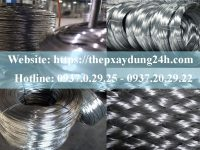 Quy trình sản xuất dây mạ kẽm
