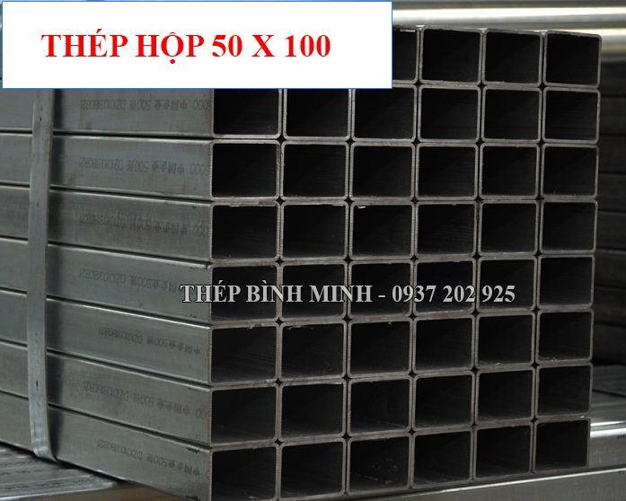 thép hộp chữ nhật 50x100